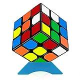 QiYi 3x3 魔方 立体パズル WCA国際大会規格 公式 競技用 ポップ防止 知育玩具 (Q302)