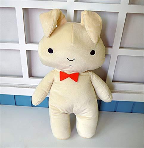 zcm Juguete de Peluche Anime Crayon Shin Chan Toy Anime Shin-Chan Figura Sakura Tian Ni Conejo Peluche Muñeca 49cm Almohada
