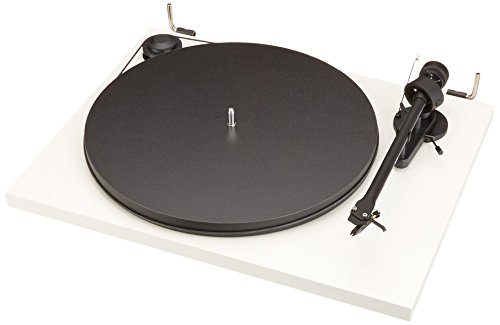 Pro-Ject Essential II - Tocadiscos USB, blanco