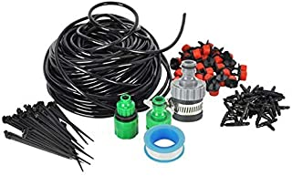 ODIN-Watering Kits - 5m 10m 25m Water Hose 4/7mm Micro Drip Irrigation System DIY Garden Watering Kit for Greenhouse Plant...