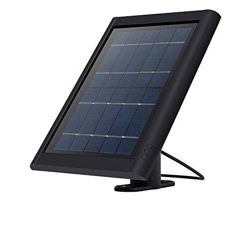 Ring Solar Panel für Spotlight Cam Battery und Stick Up Cam Battery, Schwarz