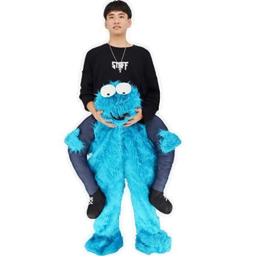 Carry me Huckepack Cosplay Piggyback Kostüme (Carry Me) Kostüm, Einheitsgröße, Unisex Huckepack Tragen Witzig Kostüm Faschings Kostüm - Mit selbst füllen Beine
