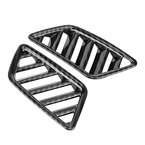KIMISS 2 piezas de Cubiertas de salida de ventilación de aire superior interior para Cross 17-18(fibra de carbono)