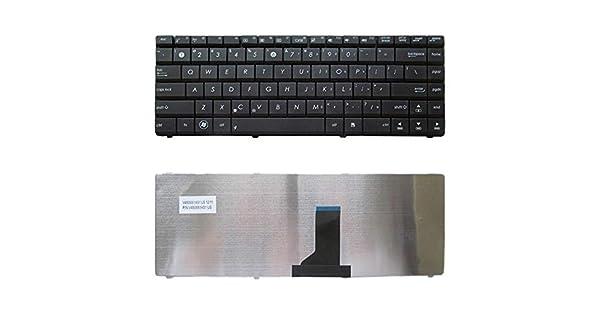 Black Color : Black DUANDET US Keyboard for Asus N82 N82J K42 A42F X44H X43 A42 A42D A42J K42D K42J A42J K42F U32 U35 U41 Replacement Keyboard