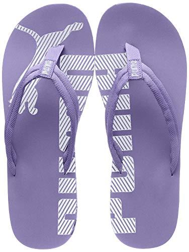 PUMA Unisex-Erwachsene Epic Flip v2 Zehentrenner, Violett (Sweet Lavender White), 37 EU