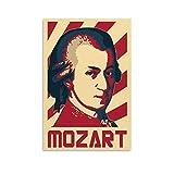 ASDSA Mozart Poster, dekoratives Gemälde, Leinwand,