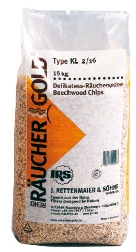 15kg Rettenmaier Räuchergold KL 2/16 Körnung 4.0 bis 12.0 mm
