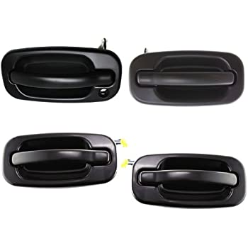 DAT AUTO PARTS Front Outer Paintable Door Handle Replacement for 99-07 Escalade Avalanche Silverado Suburban GM1310140 Left Driver