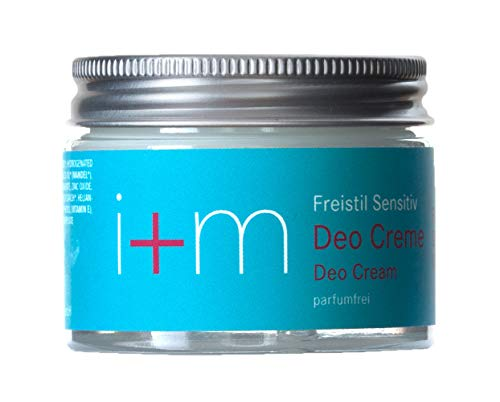 i+m - Deo Creme - Freistil sensitiv - parfumfrei - 30 ml