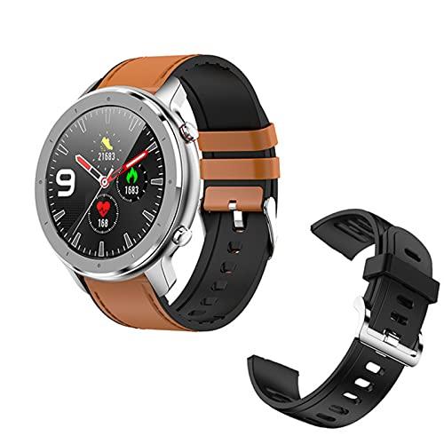 DT78 Pro 1.3 Pulgadas All Rueda Pantalla Táctil Completa Smart Watch Pedómetro Smartwatch Hombre Monitor De Ritmo Cardíaco Pulsera F12 Muñeca Adecuada M4,E