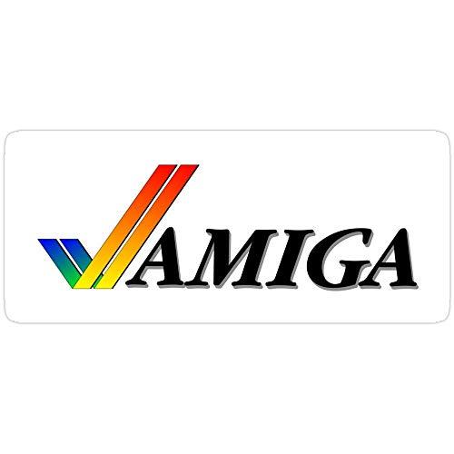 DKISEE 3 Stück Aufkleber NDVH Amiga, Commodore Aufkleber für Laptop, Telefon, Autos, Vinyl Lustige Aufkleber Aufkleber Aufkleber für Laptops, Gitarre, Kühlschrank 4 Zoll