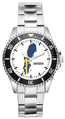 KIESENBERG Uhr - Schweden Geschenk Artikel Idee Fan 1102