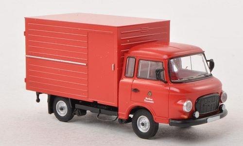Barkas B 1000, Berliner Feuerwehr, Modellauto, Fertigmodell, Brekina 1:87