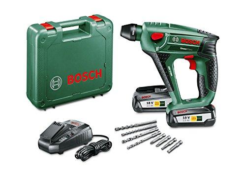 Bosch Akku Bohrhammer Uneo Maxx (2 Akku, 18 Volt System, im Koffer)