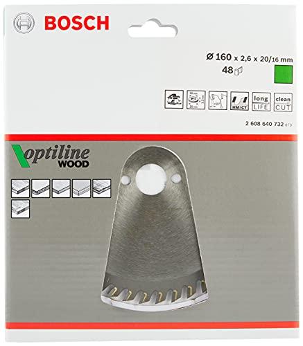 Bosch Pro Kreissägeblatt Optiline Wood zum Sägen in Holz für Handkreissägen (Ø 160 mm) - 3