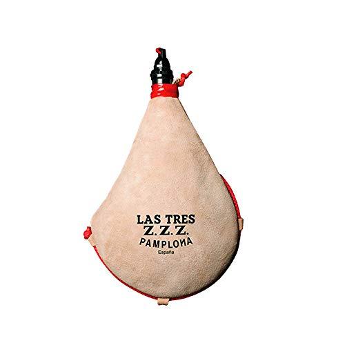 Las Tres Z.Z.Z. Bota de Vino Recta de pez - 1 litro