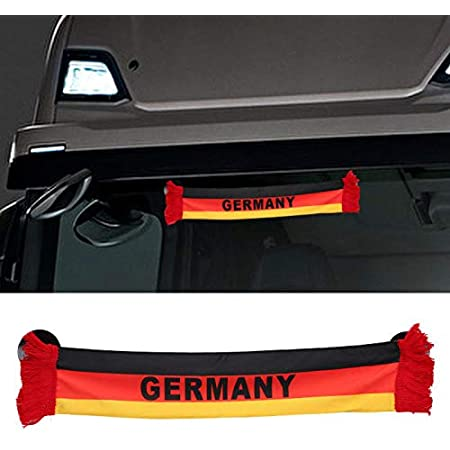 Truck Duck Lkw Auto Germany Deutschland Mini Schal Wimpel Flagge Saugnapf Spiegel Deko 45x8cm Auto