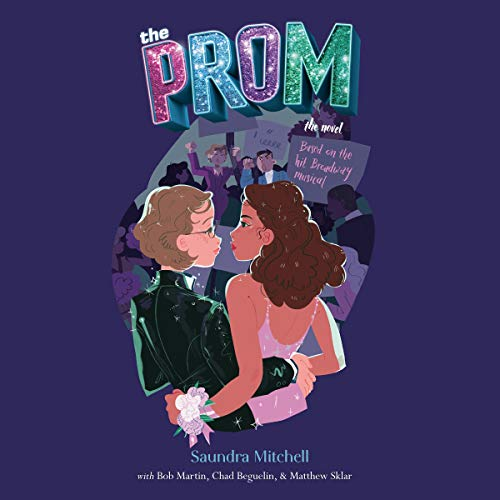 The Prom audiobook cover art