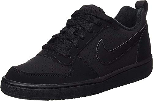 Nike Unisex Court Borough Low Basketballschuhe, Schwarz Black Black Black, 38 EU