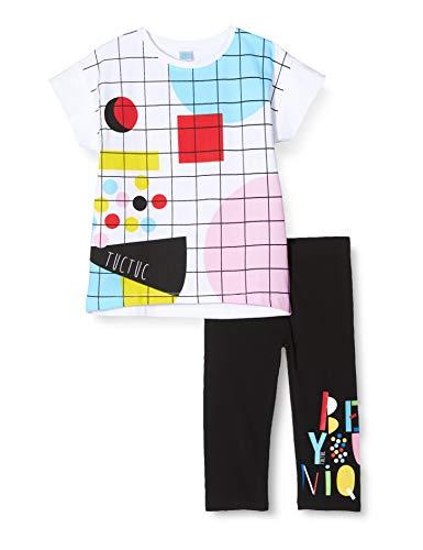Tuc Tuc Conjunto Camiseta Cuadros Y PANTALÓN Punto NIÑA Negro Funny Games