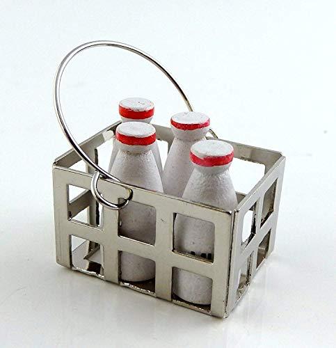Melody Jane Puppenhaus Miniatur Step Küche Country Store Zubehör Kiste Milch