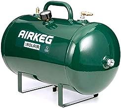 Rolair AIRKEG2 Heavy Duty 10 Gallon On the Go Lightweight Portable High Performance Steel Auxiliary Air Storage Tank