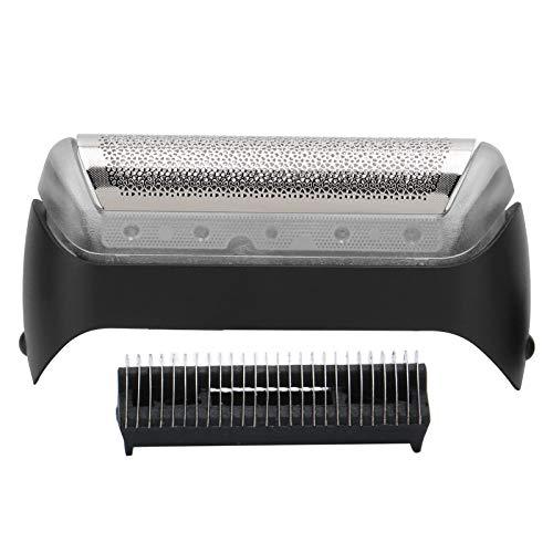 Repuesto de cabezal de lámina de afeitadora, accesorio de máquina de afeitar eléctrica con cuchilla de afeitar para BRAUN