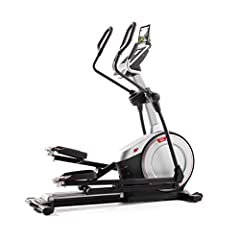 Front drive design, soft grips upper body workout arms, 0 to 20 degree adjustable power ramp, over sized adjustable cushioned pedals 25 lb, Effective Inertia Enhanced flywheel, 24 resistance levels, CoolAire workout fan, integrated tablet holder; Bui...