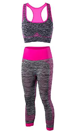 Pak - sportbeha met legging - lot 2 stuks - vrouw - yoga - gym - sport - pilates - training