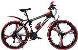 LIPENLI De los niños de bicicletas de montaña al aire libre de verano de la montaña niños de la bici bicicleta de carretera Chico y chica de 20 pulgadas de velocidad ajustable bicicletas (Color: Rojo,