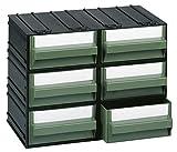 cassettiera modulare mobil plastic modello c - 6 cassetti