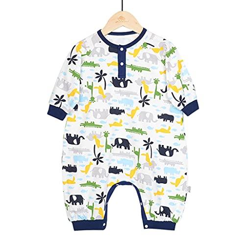 YQQMC Baby-Schlafsack, tragbare Decke, Pucksack, für Jungen und Mädchen, Baumwolle, bequem (Farbe: Dunkelblau, Größe: S)