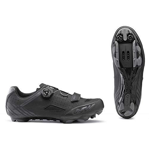 Northwave Sapatos Btt NW Origin Plus, Zapatillas Unisex Adulto, Negro, 39 EU