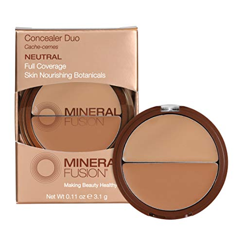 Mineral Fusion Compact Concealer Duo, Neutral Shade, 0.11 Ounce...