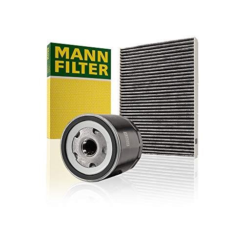 Mann Filter Original Set aus 1x Innenraumfilter CUK 2862 und 1x Ölfilter W 712/52 - Für PKW, mit Aktivkohle Pollenfilter
