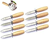 TANG SONG 8PCS Oyster Knife Oyster Shucking Knife Oyster Shucker Oyster Opener Oyster Clam Pearl...