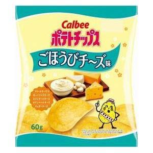 カルビー ポテトチップス ごほうびチ~ズ味 60g ×12袋