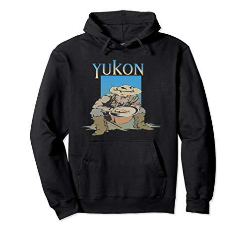 Klondike-Goldrausch-Yukon-Bergmann-Alaska-Hemd Pullover Hoodie