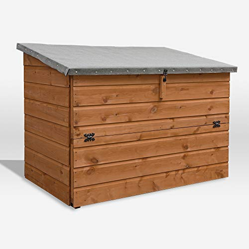 Waltons Wooden Garden Storage Chest 4x3 Outdoor...