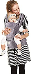 R for Rabbit Upsy Daisy Cool Hip Seat Baby Carrier for New Parents (Dark Grey),R for Rabbit