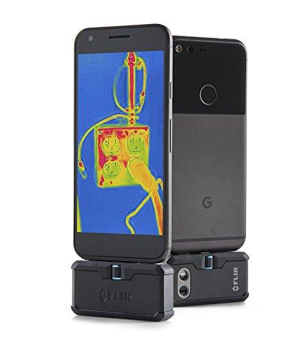 FLIR ONE PRO LT Módulo de cámara de escaneo térmico para dispositivos Android con conector micro USB, medición de temperatura de hasta 120 °C (248 °F)