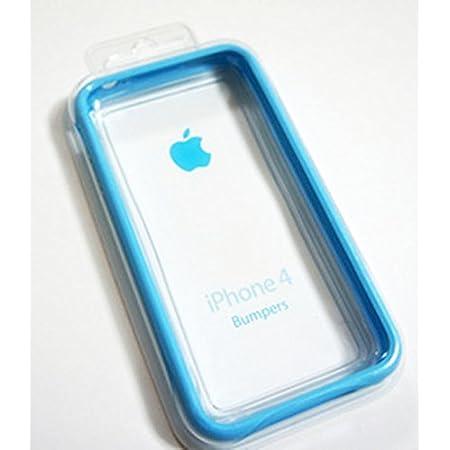 Apple iPhone4 Bumper ブルー アップル純正品 MC670ZM/A