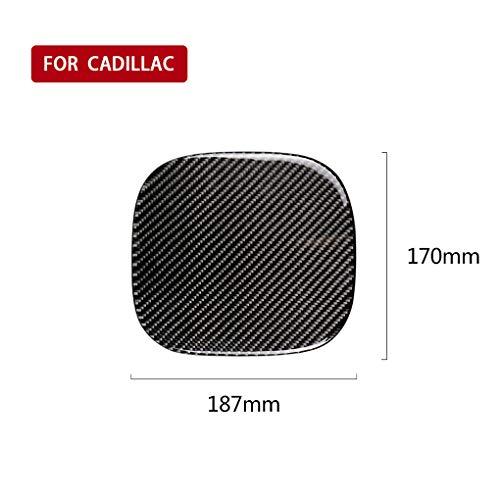 Koolstofvezel Stookolie Tankdop Sticker Cover Trim Vervanging Voor Cadillac XT5 2016-2017 Auto Type