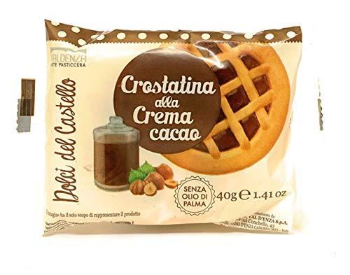 Crostatina alla crema di Cacao - 42 porzioni da 40gr