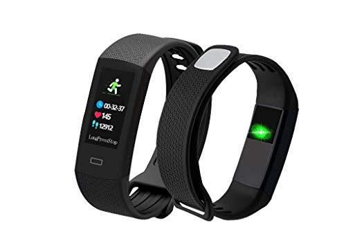 Smart Bracelet I´MSO HEALTHY, Health and Fitness Tracker. Affordable watch and accurate Steps, Calories, Body Temperature, Heart Rate, Blood pressure and Blood O2 measurements | A gift for your health