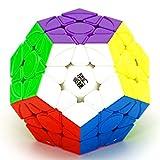 CuberSpeed yj yuhu Magnetic Megaminx Stickerless Speed Cube Speed Puzzle Cube yongjun yuhu v2 m megaminx Cube Puzzle