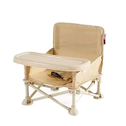 R-CHAIR Säugling Sitzen Tragbaren Stuhl, Falten Booster Sitz Tisch Hochstuhl, Perfekt Einstellbar Baby Hochstuhl Für Ihre Babys Und Kleinkinder Oder Als Baby Dining Chair,Yellow