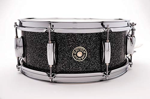 "Gretsch Drums Catalina Maple Black Stardust Snare 5.5x14"" CM1-5514S-BS"