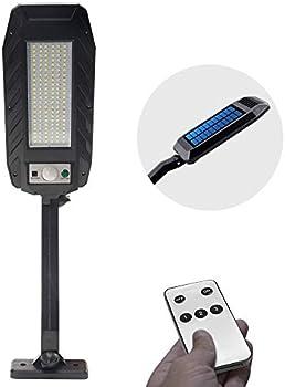 Teilybao 132 LED Outdoor Motion Sensor Wireless Solar Lights