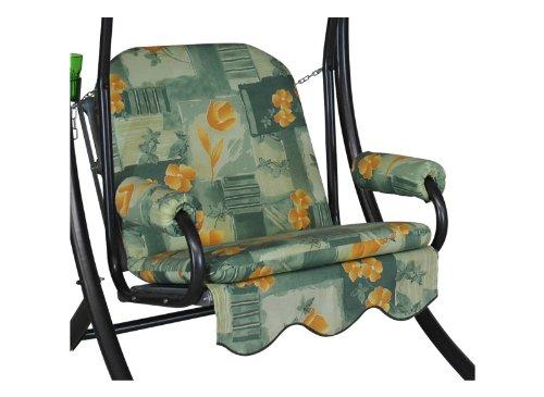 Angerer Schaukelauflage, Single 1-Sitzer Design Schliersee, grün, 178x56x56 cm, 1017/163